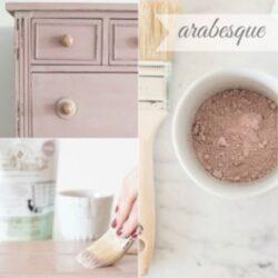Miss Mustard Seed´s Milk Paint im Farbton Arabesque, einem pudrigen Rosé aus der European Color Line.