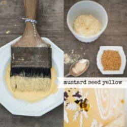 Miss Mustard Seed´s Milk Paint Yellow, einem fröhlichen Senfsamengelb.