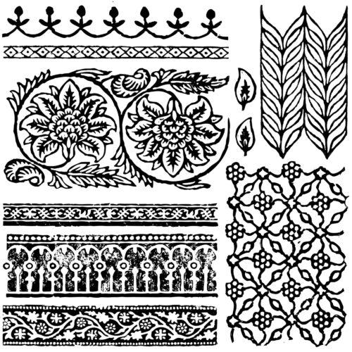 Iron Orchid Designs Stempelset Bohemia