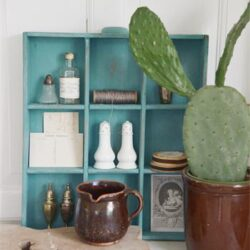 Kreidefarbe Kalkfarbe old Turquoise JDL