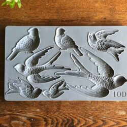 IOD Silikonform Mould Birdsong